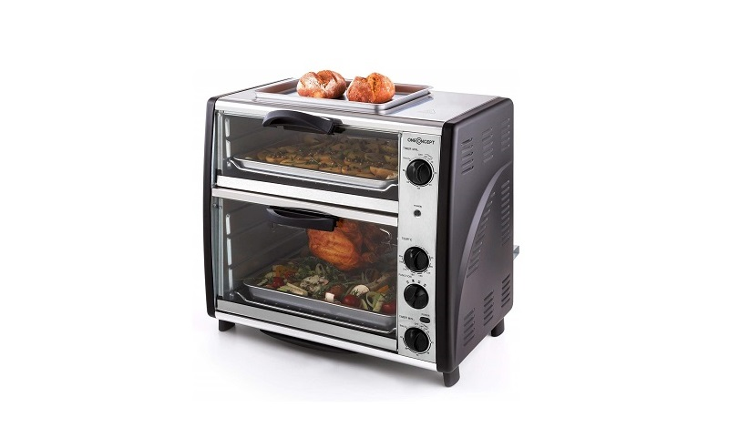 oneConcept All-You-Can-Eat Horno eléctrico doble