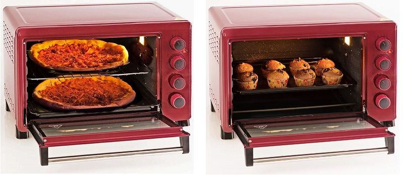oursson horno sobremesa granate oferta